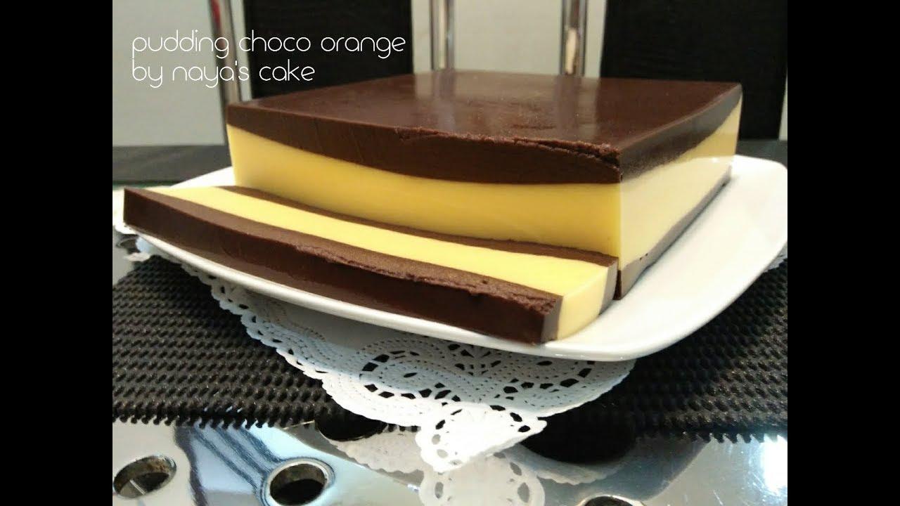 Resep Puding Brownis Choco Orange Roti Tawar