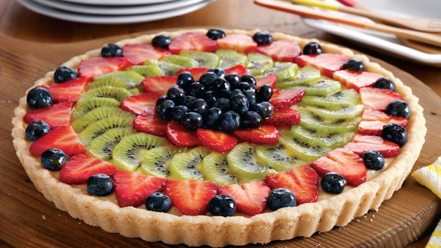 cara membuat pie buah