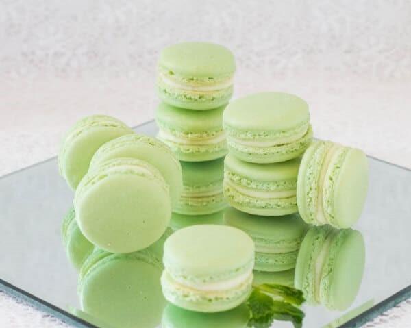 Cara Membuat Kue Macaron Pappermint